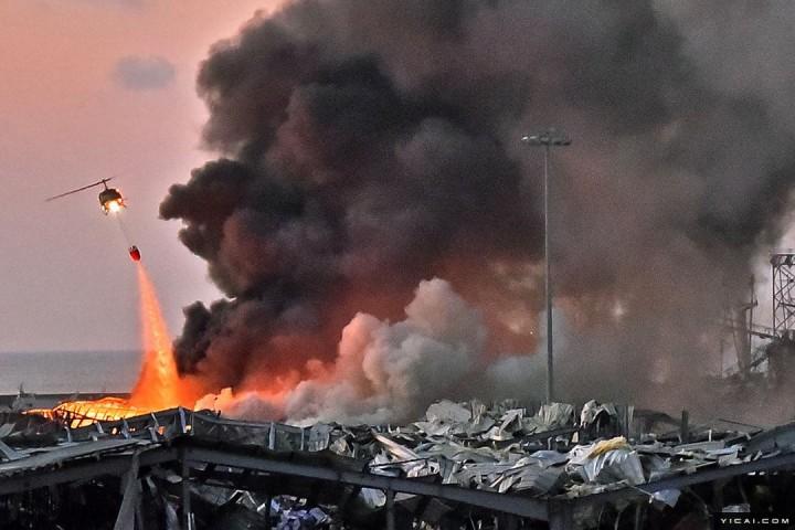 国际社会关注贝鲁特爆炸事件 多国表示将向黎巴嫩提供援助