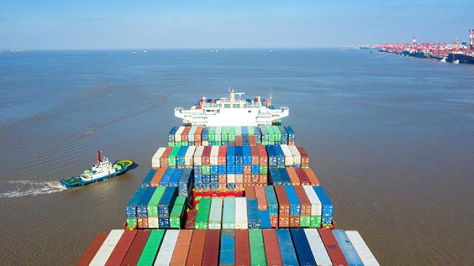 今年前2个月我国外贸进出口5.44万亿,同比增32.2%