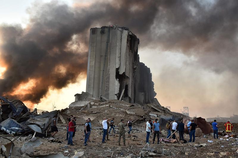 粮仓严重毁损、港口货运受阻......贝鲁特大爆炸或将黎巴嫩经济推入深渊