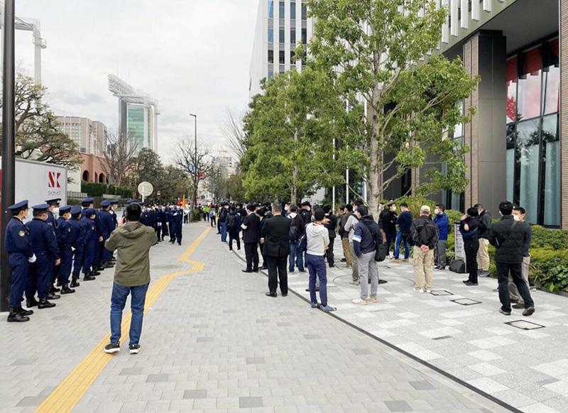 日本民众举行示威要求取消东京奥运会