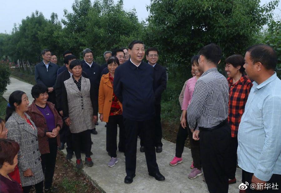 习近平:共产党打江山、守江山,守的是人民的心