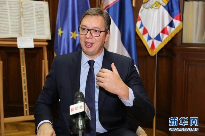 塞尔维亚总统:与中国的合作建立在真诚友谊、团结和尊重基础之上