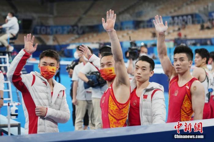 中国体操男子团体摘铜 林超攀失误自责落泪