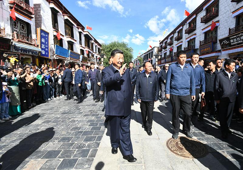情系高原 习近平与西藏的几个小故事