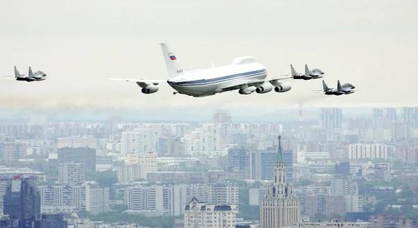 """俄罗斯正研制新一代""""末日飞机"""":核战争情况下用于指挥部队"""