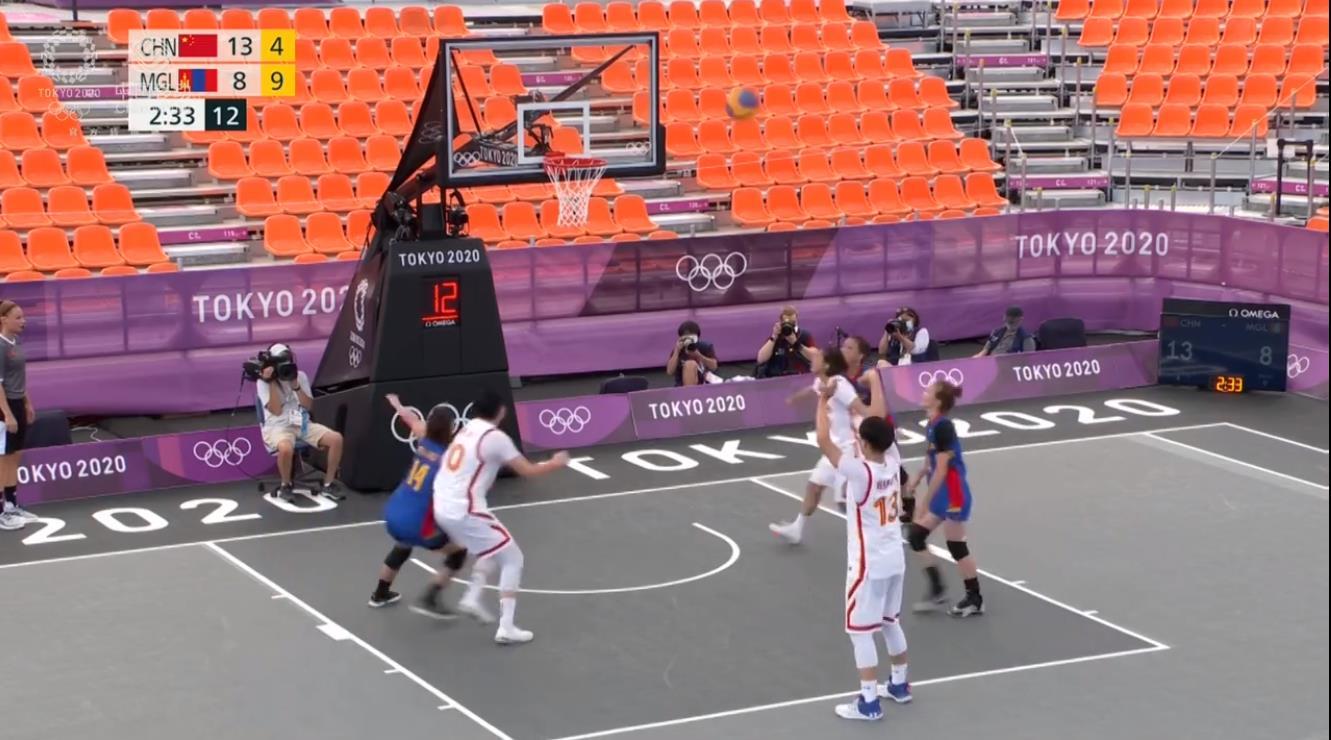 稳!中国三人女篮晋级淘汰赛