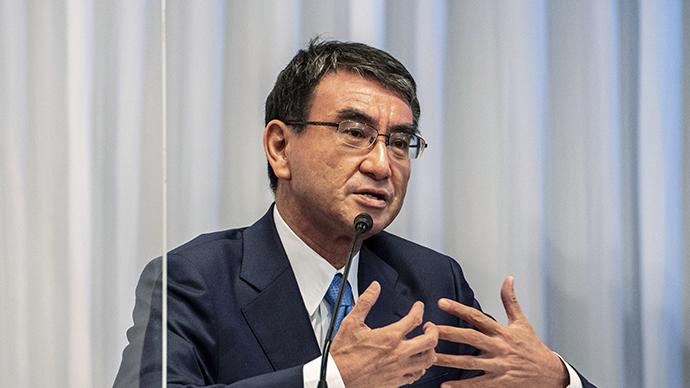 日自民党总裁选举最新民调:河野太郎或获得超四成普通党员票