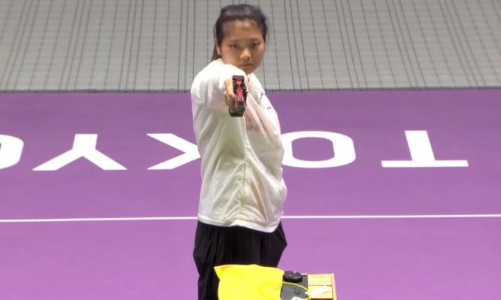 天赋+喜爱+不懈努力,上海小囡姜冉馨夺得女子十米气手枪铜牌