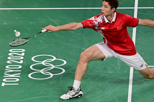 石宇奇:奥运会也不紧张 反正都是在打羽毛球
