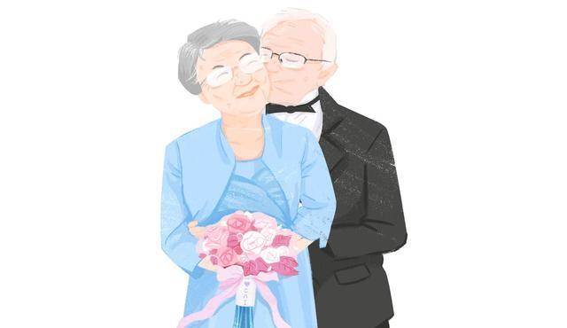 7兄妹为钻石婚父母补办婚礼 83岁母亲穿婚纱笑靥如花